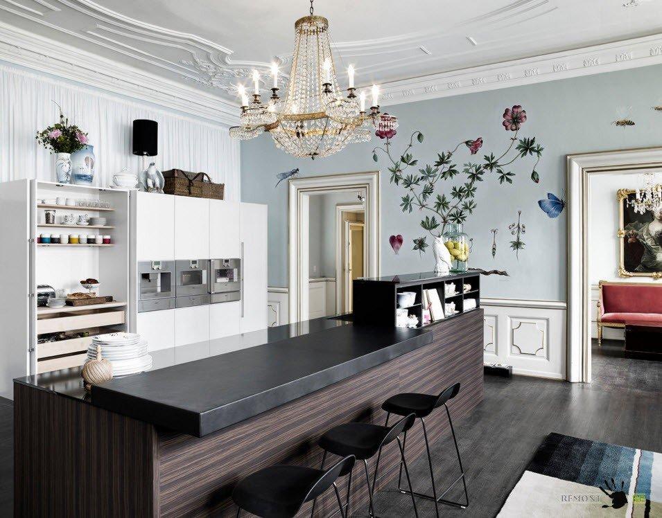 Оригинальный дизайн современной мебели подбираем итальянские обеденные столы
