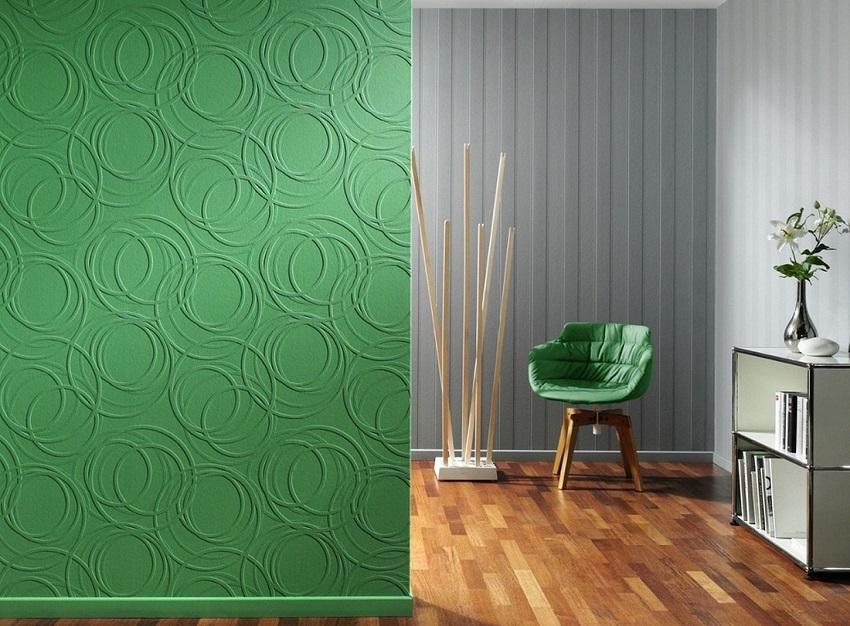 Преимущества флизелиновых обоев под покраску