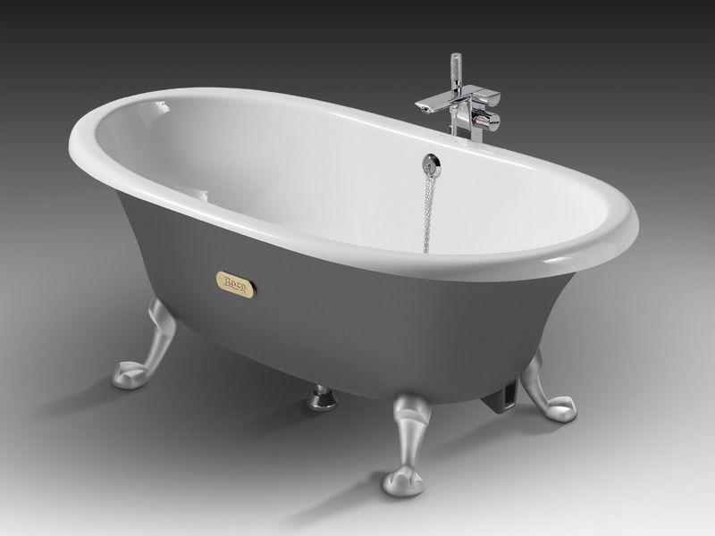Про чугунные ванны и их основные характеристики