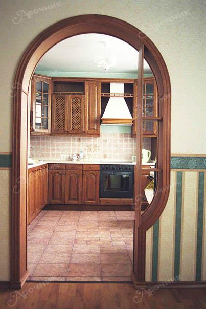 Арка вместо двери – новый облик квартиры