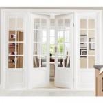 Белые двери — воздушное украшение интерьера