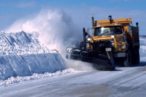 Что собой представляет снегоуборочная машина?