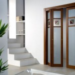 Дверь-гармошка в интерьере: простота, лаконичность и удобство
