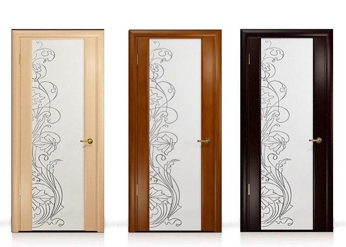Двери со стеклянными вставками: анализируем плюсы и минусы
