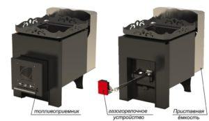 Газовая печка – безопасное и комфортное решение для бани