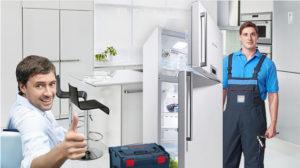 Как происходит ремонт холодильника?
