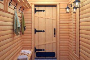 Как выбрать дверь для бани