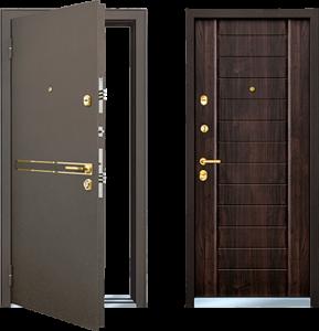Конструкционные особенности металлических дверей