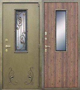 Критерии выбора уличной металлической двери