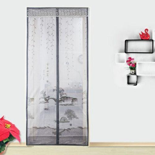 Магнитные шторы на двери от комаров