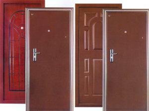Металлические двери — какие они бывают
