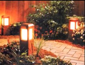 Основные преимущества светодиодных садовых светильников