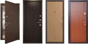 Основные виды металлических дверей и их особенности
