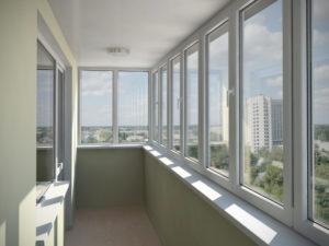 Преимущества остекления балконов с помощью пластиковых окон