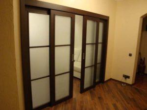 Раздвижные межкомнатные двери и перегородки – идеальный выбор для дома