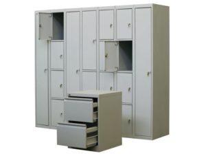 Различные виды офисных шкафов