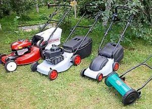 Разновидности газонокосилок и их использование