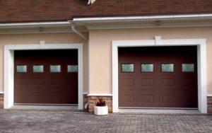 Самые популярные типы гаражных ворот