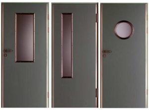 Сферы применения технических металлических дверей