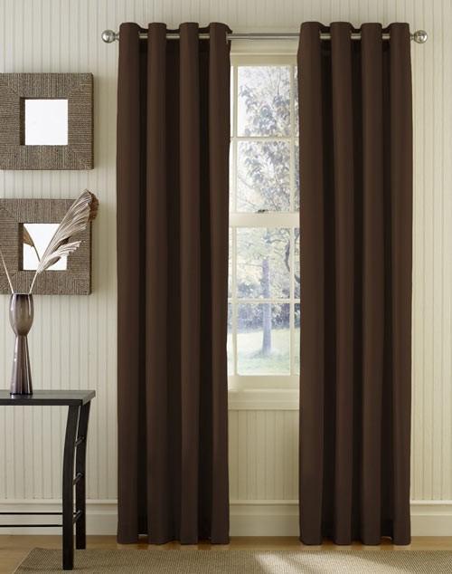Шторы на люверсах: практичное и оригинальное оформление окна