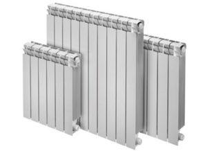 Виды радиаторов: биметаллический и алюминиевый