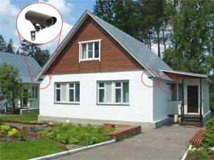 Выбор видеонаблюдения для частного дома