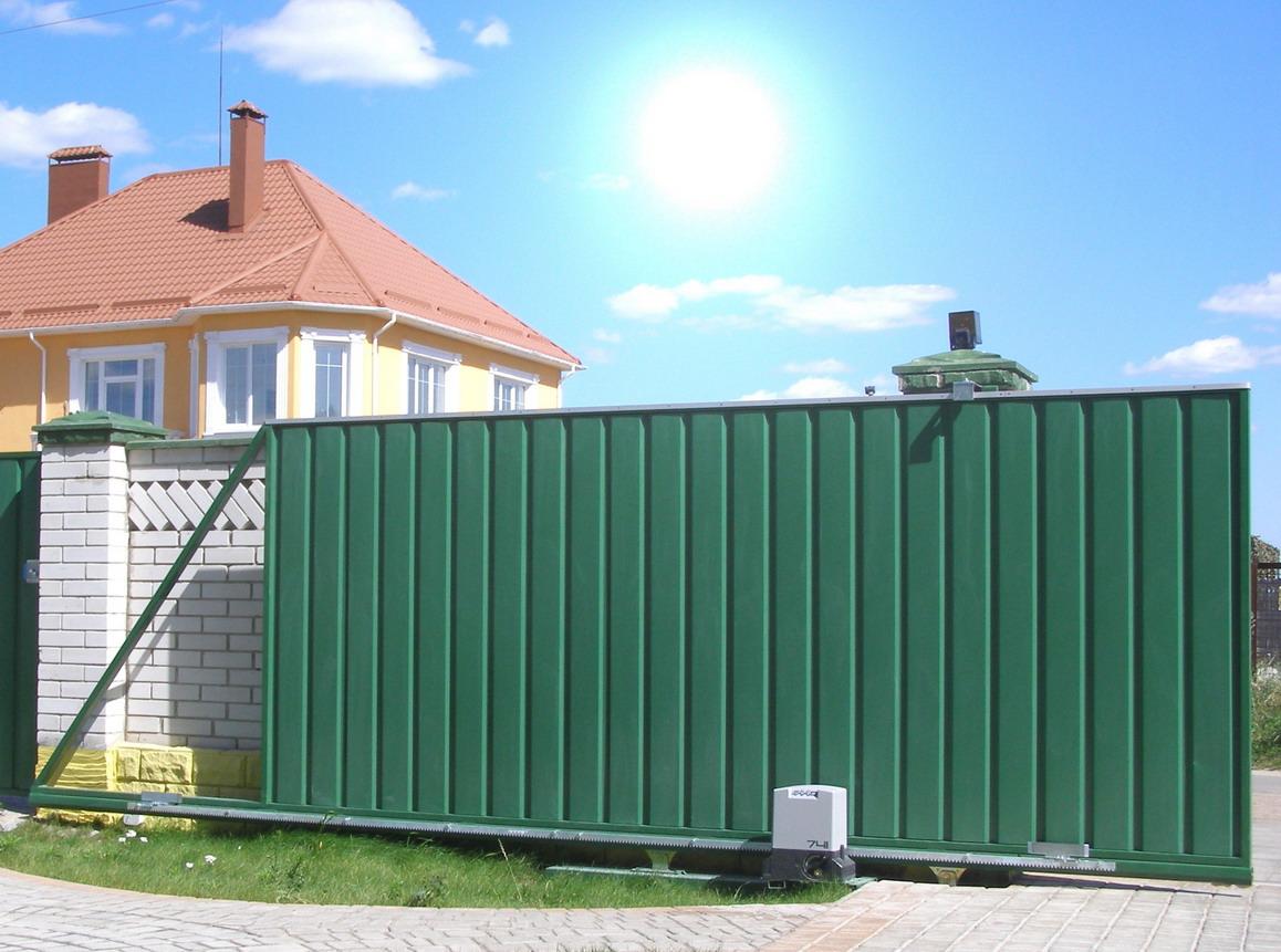 Автоматические ворота: описание